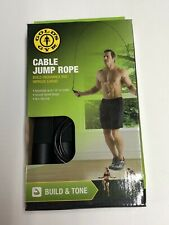 "Gold's Gym Cable Jump Rope - 116"" in Length"