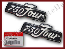 Honda CB 750 Four K6 Emblem Set Seitendeckel Original Emblem Set Side Cover