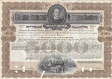 Lake Shore and Michigan Southern Railway 1932 Stock Bond Certificate