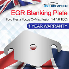 Fit Ford EGR Valve Plate Suzuki Fusion Focus Citroen 1.4 1.6 Tdci Hdi With Hole