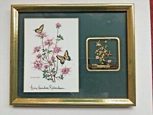Anne Worsham Richardson 1996 Carolina Ornament of Hope w/ Framed & Matted  Print