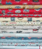 Old Guys Rule by Robert Kaufman U Choose Quilting Cotton Fabric Fat Quarter Yard