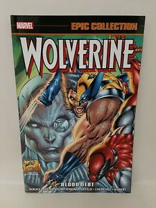 Marvel Epic Collection Wolverine Vol 13 (2018) Blood Debt TPB NEW SC