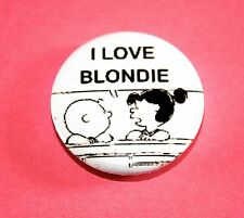 X2 PUNK ROCK SNOOPY CHARLIE BROWN PEANUTS BUTTON PIN BADGE