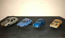 FORD ESCORT-FIAT RITMO 65-VW GOLF-VW1303 MAGGIOLINO- MODELLINI MEBETOYS  1/43