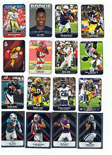 2017 PANINI NFL COLLECTIBLE STICKERS - YOU PICK SIX(6) YOU NEED