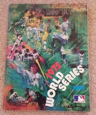 OFFICIAL MLB 1975 WORLD SERIES PROGRAM- BOSTON RED SOXS AND CINCINNATI REDS