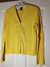 'Ralph Lauren' Yellow Cotton Blend Long Sleeve Knit Twin Sweater Set - M/L - EUC