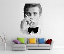 007 JAMES BOND ROGER MOORE SHAKEN NOT STIRRED GIANT WALL ART PHOTO PRINT POSTER