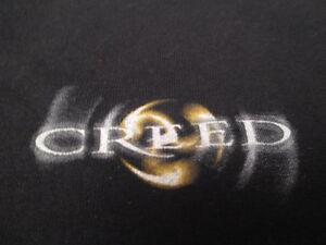 CREED Double-Sided Logo (LG) T-Shirt Brian Marshall Scott Phillips Scott Stapp
