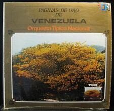 Orquestra Tipica Nacional - Paginas De Oro De Venezuela LP VG+ THS 1201 Record