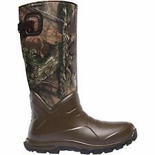 """Lacrosse Men's Aerohead Sport Snake Boot 17"""" Mossy Oak, Green, Size 14.0 nOzl"""