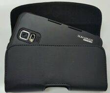 FOR SAMSUNG GALAXY NOTE 3 BELT CLIP LEATHER HOLSTER FIT A SLIMARMOR VI