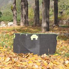 5Pcs 150 Gallon Fabric Grow Bags Black Planter Smart Plant Root Pots Container
