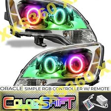 ORACLE Halo 2x HEADLIGHTS for GMC Acadia 08-12 COLORSHIFT Simple RGB LED