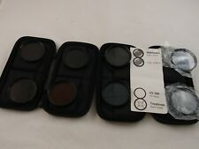 Lot of filters 8x M49 with case