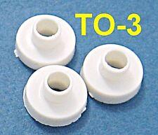 50, Plastic Bushings TO-3 Insulator Washers Transistor Heat Sink Sinking