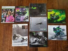 Arctic Cat Snowmobile Literature * 1989 - Present * Pick Your Year