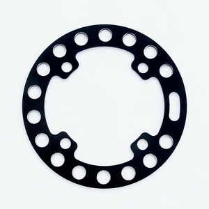 ROCK RING chain Bike Bash Guard, 36t Max, 104mm BCD, 60g, Black, aluminum