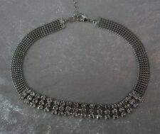 Women's Gothic Silver Chokers