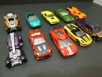 MATTEL HOT WHEELS DIE CAST TOY CARS LOT OF 10 EXCELLENT CONDITION