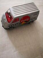 Matchbox Coca-Cola Ford Transit 1995 mattel 1:63, unbespielt Vitrinen Modell