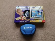 Leapster L-Max Learning Game System Handheld With Games