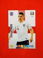 Carte card Panini ADRENALYN XL UEFA Euro 2020 n°128 DECLAN RICE ENGLAND
