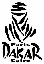 Dakar Paris Cairo Sticker Decal Graphic Vinyl Label Black