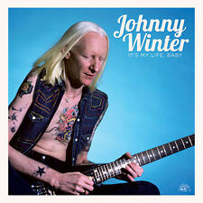 JOHNNY WINTER IT'S MY LIFE, BABY VINILE LP 180 GRAMMI NUOVO E SIGILLATO !!