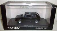 NOREV 1/43 - 840078 VW GOLF MK1 1976 BLACK LHD