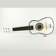 Kids Guitar Toy Wooden Classical Acoustic Guitar White Musical Guitar xmas Gift