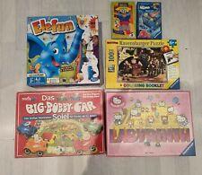 Spiele Kinder Paket 6 Teile Set Elefun, Ravensburger, Bobby Car, Labyrinth, Puzz