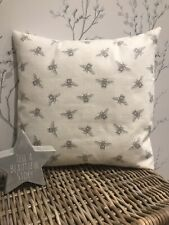 "16/"" Vintage//Shabby Chic Clarke and Clarke Etoile Pink Stars Fabric Cushion Cover"