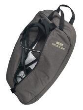 STUBBEN UNIQUE POSH Zipped Large TEXTILE Padded Carrying Bag 4 Bridle Reins GREY