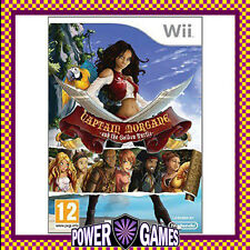 Captain Morgane and the Golden Turtle (Nintendo Wii) Brand New