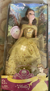 Disney Shining Shining Princess Barbie Doll In Original Box