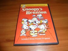 Peanuts - Snoopy's Reunion (DVD, 2009, Deluxe Edition) Used Charlie Brown