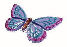 Mosaiksteine-SCHMETTERLING-Farbe:LILA+PINK+BLAU-GLITTER-Grösse:14x8cm-2.WAHL