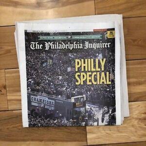 Philadelphia Inquirer Newspaper Eagles Philly Special PARADE 2/9/2018