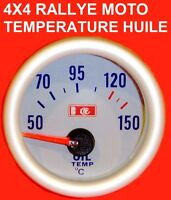 MANOMETRE TEMPERATURE HUILE MONTAGE 5mn GTI RS STI WRX WILLIAMS CUPRA ABARTH FR