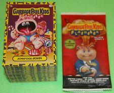 2011 GARBAGE PAIL KIDS FLASHBACK 2 BASE SET 160 CARDS + WRAPPER RARE GPK STICKER