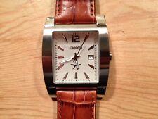 New - Reloj Watch Montre CARRERA - Quartz - Steel Acero - Leather Piel - Nuevo