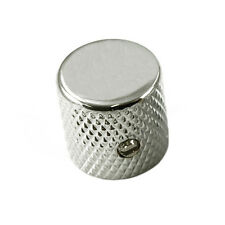 Barrel Knob Chrome for Fender Tele or Strat - USA Fit