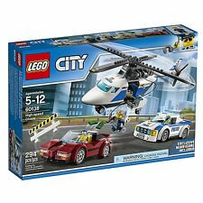 LEGO® City: High-speed Chase Building Play Set 60138 NEW NIB Retired