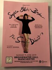 Sophie Ellis Bextor Tour Flyer Promo - The Song Diaries - Bridgewater Manchester