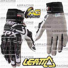 Leatt GPX 5.5 Windblock Black White Gloves Adult Small SM S Motocross Enduro ATV