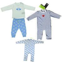 3er Set Baby Langarm Body Strampler Bio Baumwolle Pyjama Mädchen Schwan 62 - 68