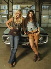 NASCAR SUPERSTAR DANICA PATRICK AND MIRANDA LAMBERT  8X10 PHOTO W/ BORDERS