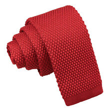 DQT Woven Gingham Check Checkered Purple Mens Slim Tie & Hanky Set